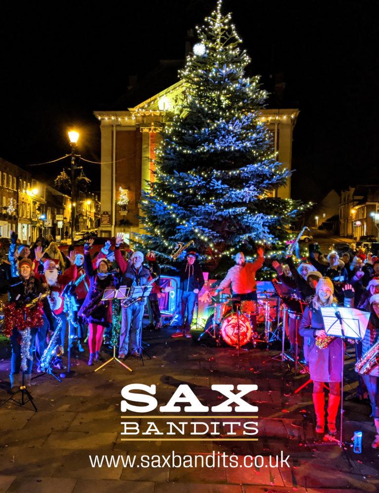 Sax Bandits Christmas Busking Bash 2019