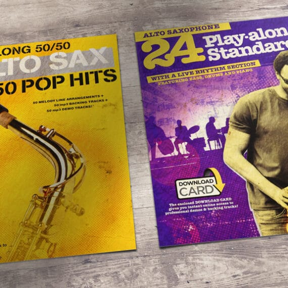 Easy To Play Saxophone Playalong Books